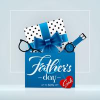 Fathers Day sale promotion banner