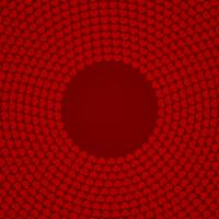 Red circular heart patterned backgrounds