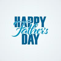 Happy Fathers Day handschrift
