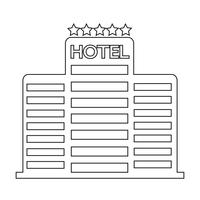 Five Star Hotel Icon