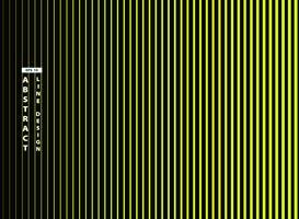 Línea verde viva de moda abstracta en fondo negro. ilustración vectorial eps10