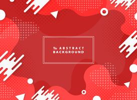 Abstract living coral vector design geometric element background. illustration vector eps10