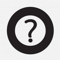 Fragezeichen-Zeichen-Symbol