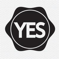 Icona del pulsante Sì