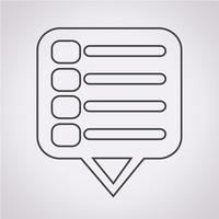 Menu icona simbolo segno
