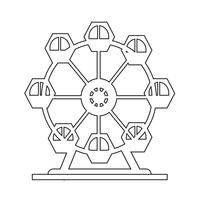 Icona della ruota panoramica