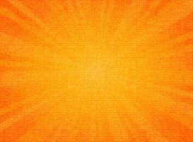 Abstract sun burst orange color circle pattern texture design background. You can use for sales poster, promotion ad, artwork of text, cover design.
