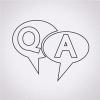 QA-Symbol, Frage Antwortsymbol