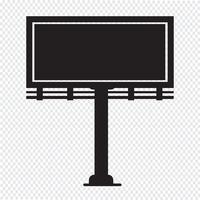 Billboard presentatie pictogram
