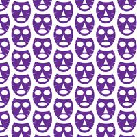 Pattern background Facial mask icon