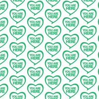Pattern background You are here icon