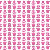 Icône de fond de pot de fleur