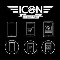 Icône de téléphone portable