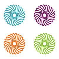 Vecteur de fleur ornementale Logo Template Illustration Design. Vecteur EPS 10.