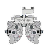 bifokal optometri mätanordning
