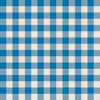 Blue and Gray Plaid Fabric Pattern