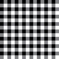 Black and Gray Plaid Fabric Pattern