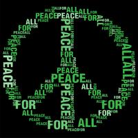 Peace For All Black BG