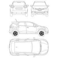 renault captur blueprint