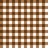 Dark Brown and Light Brown Plaid Fabric Pattern