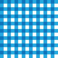 Dark Blue and Light Blue Plaid Fabric Pattern