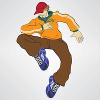 Rapper Boy Vector