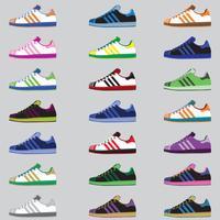 Pacote de sapatos de desporto