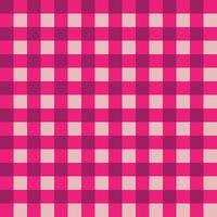 Pink and Dark Pink Plaid Fabric Pattern