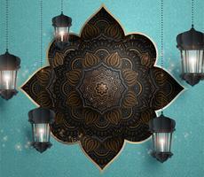Arabesque bloemenpatroon