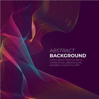 Abstrakte Steigungsmaschenwelle auf dunklem purpurrotem Hintergrund mit Raum für Textvektorillustration