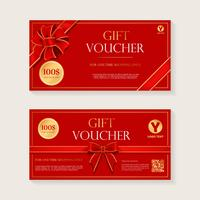 Gift Voucher Template Vector Design