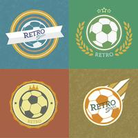 emblemas de fútbol retro