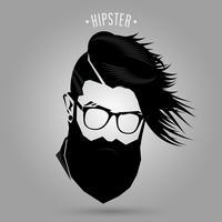 Segno di moda uomo hipster