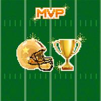 pixel di football americano