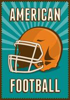 American Football Rugby Sport Retro Pop Art Posterborden