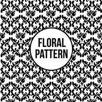 Diseño floral del patrón