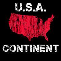 Mapa afligido dos EUA