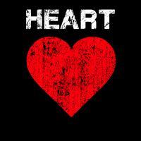Vetor de coração angustiado