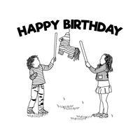 Cumpleaños Niños con Piñata