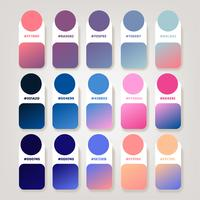 Gradient Composition Ideas Pack Vector