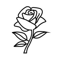 Una piccola rosa