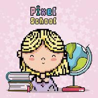 Pixel schoolkunst