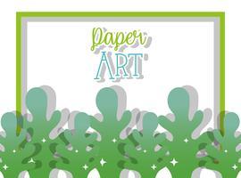 Papierkunst cartoons