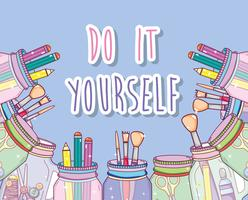 Do it yourself crafts concept