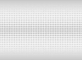 Abstract geometric gradient gray dot pattern background.