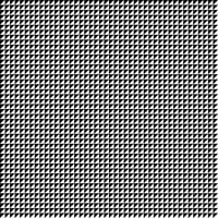 Abstract of black and white square geometric pattern background. vector