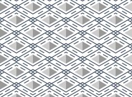 Abstract blue stripe line pattern square geometric background.