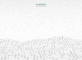 Musterquadrat-Design-Dekorationshintergrund der abstrakten Technologie grauer. Abbildung Vektor eps10