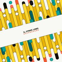 Abstract colorful tech stripe line of new cover design background. illustration vector eps10