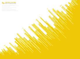 Línea amarilla abstracta fondo de la tecnología del diseño del modelo de la raya del vector. ilustración vectorial eps10